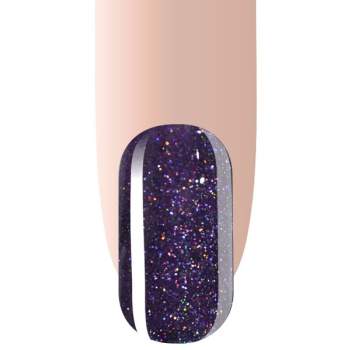 Gellack Purple Glitter UV/LED