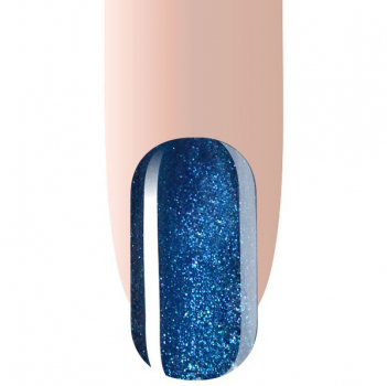 Gellack Blau Metallic Glitzer UV/LED