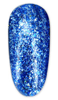 Gellack Platinum Blue Glitter UV/LED