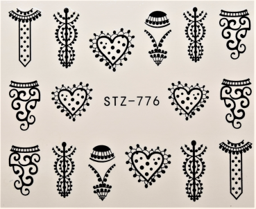 Nail Art Sticker Wassertransfer 776