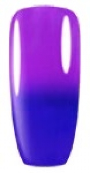 Violett-Blau Gellack Thermo UV/LED